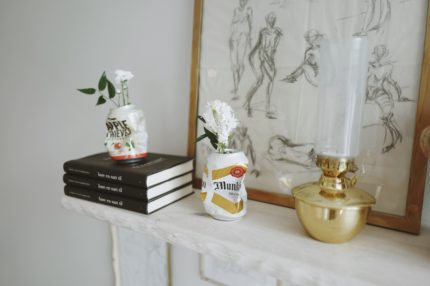 DIY: FLOWER VASES