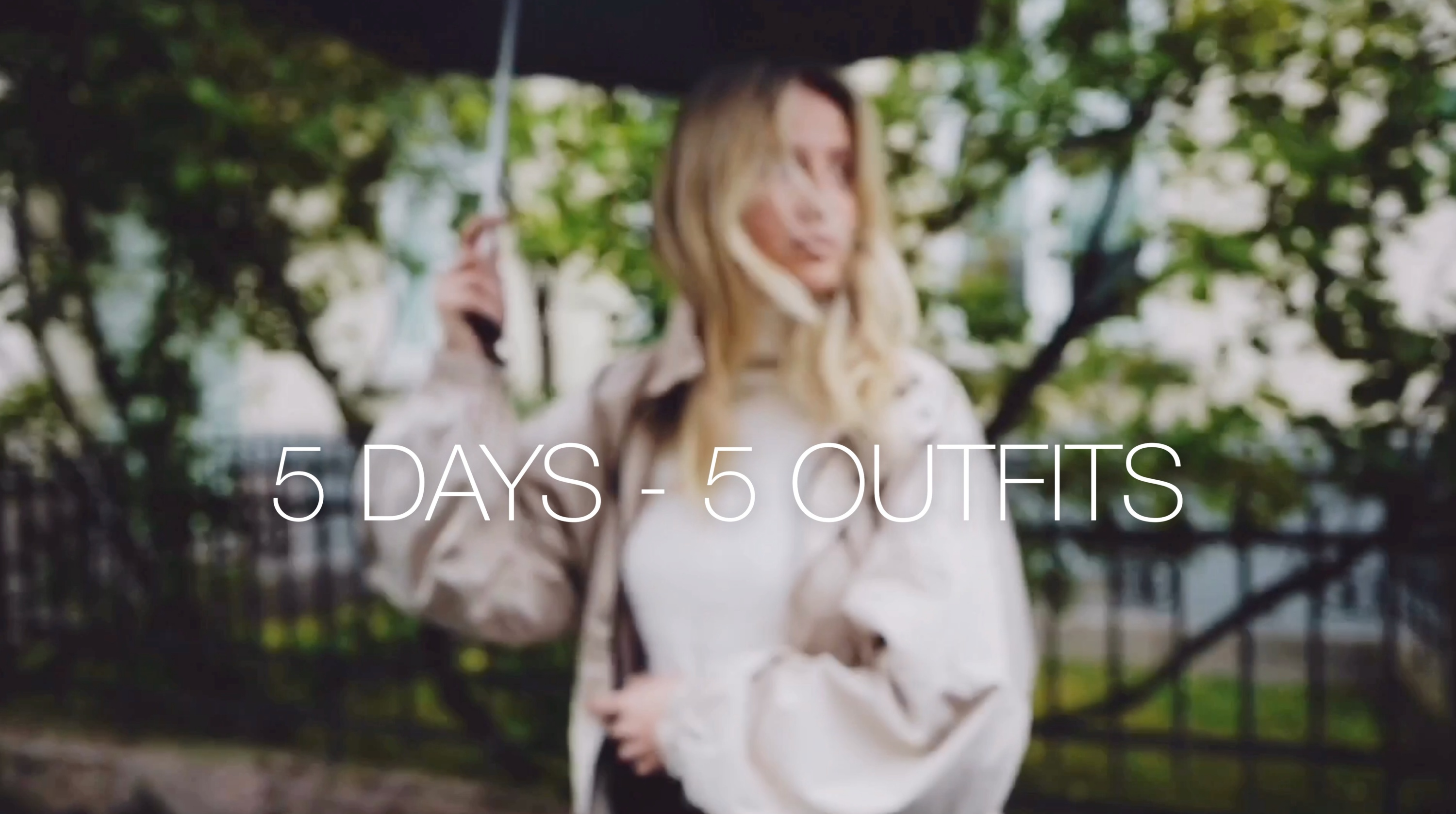 5 DAYS 5 OUTFITS