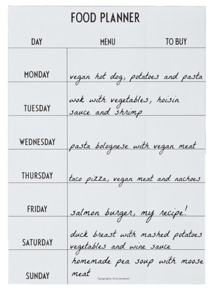 WHAT TO EAT THIS WEEK