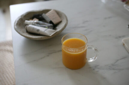 FRESH CARROT JUICE RECIPE