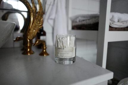 DIY: EMPTY CANDLE JARS